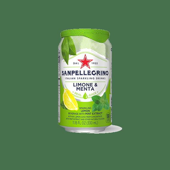 sokosoderzhashhij napitok s.pellegrino limone menta 0.33 l.