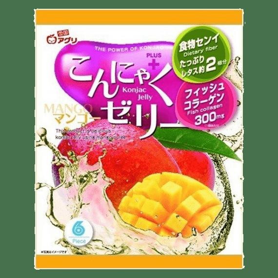 zhele yukiguni aguri so vkusom mango 108 g.