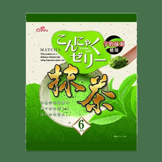 zhele yukiguni aguri so vkusom zelenogo chaya 108 g.
