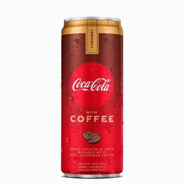 coca cola coffee caramel 0.355 l