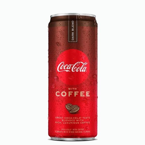 coca cola coffee dark blend 0.355 l