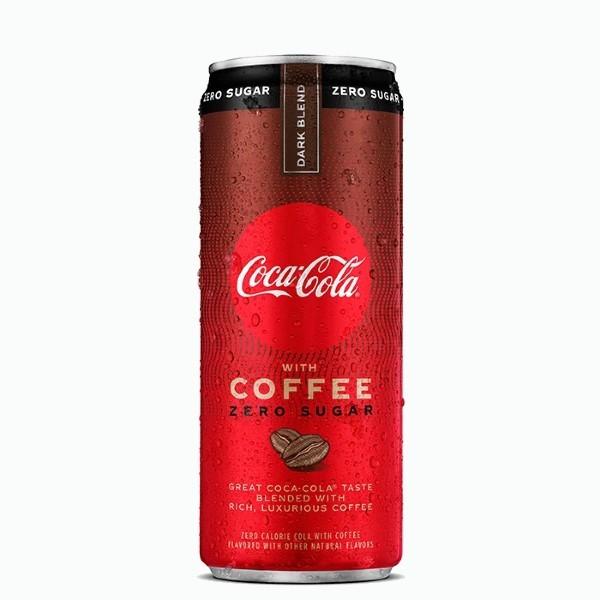 coca cola coffee dark blend zero 0.355 l