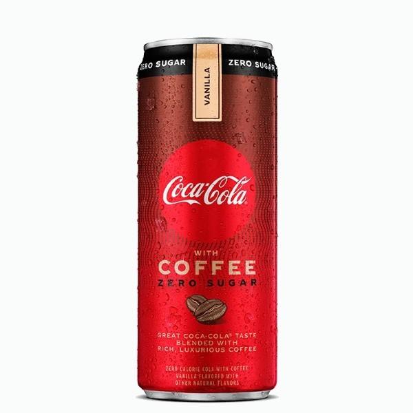 gazirovannyj napitok coca cola coffee vanilla zero 0.355 l
