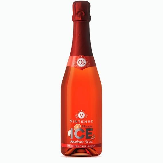vintense ice americano spritz bezalkogolnoe beloe igristoe vino 0.75 l.