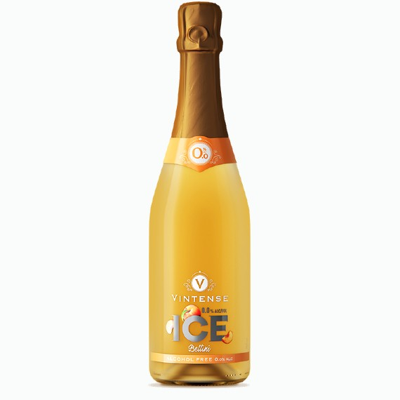 vintense ice bellini bezalkogolnoe beloe igristoe vino 0.75 l.