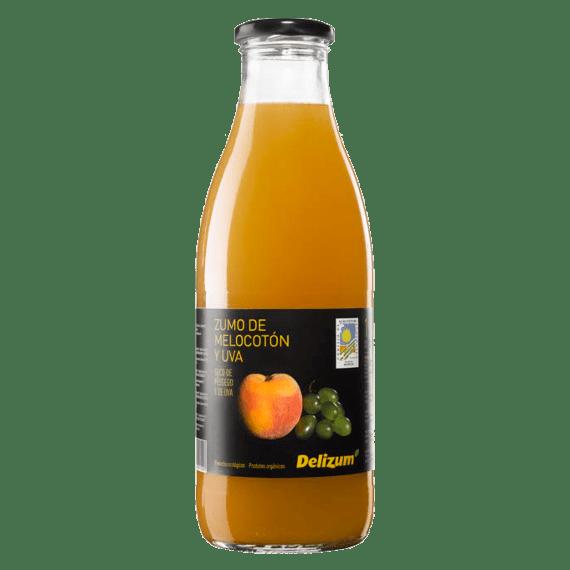 organicheskij sok delizum persik vinograd 1.0 l