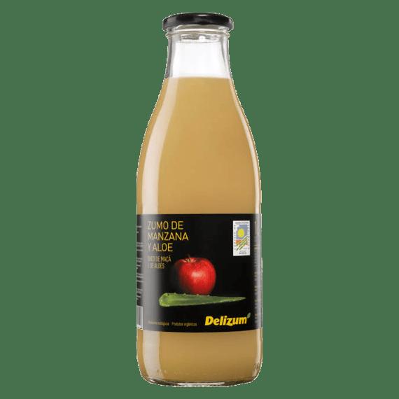 organicheskij sok delizum yabloko aloe 1.0 l
