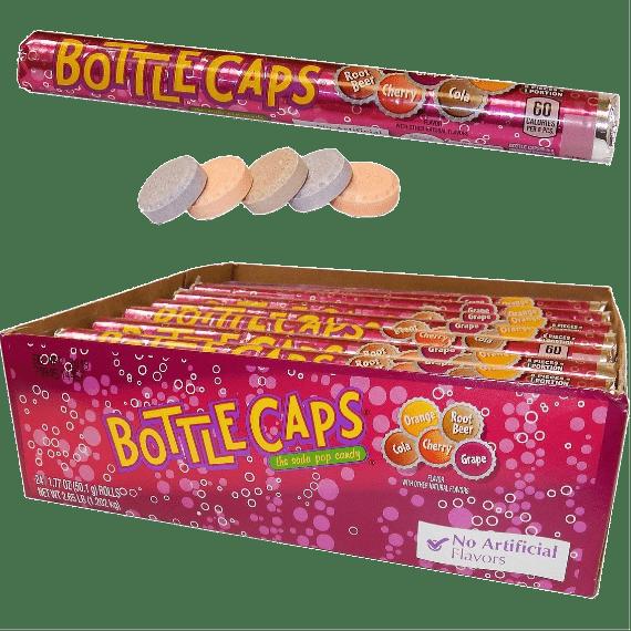 konfety wonka bottle caps soda pop candy ssha mini 501 g.