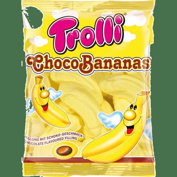 marshmellou trolli choco bananas 150 g.
