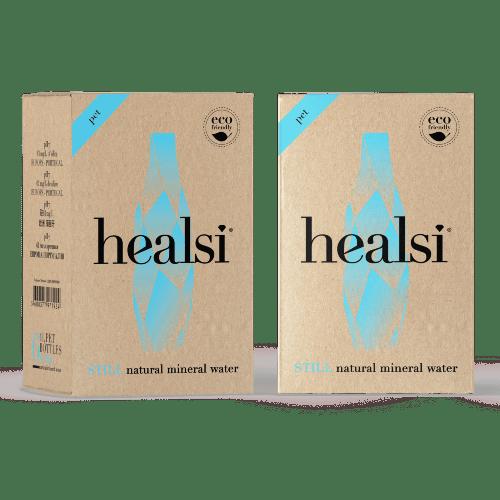 mineralnaya voda healsi turquoise negazirovannaya 1.0 l pet
