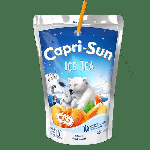 napitok capri sun ice tea peach persik 0.2 l