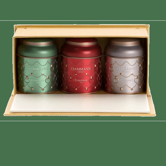 podarochnyj nabor dammann freres christmas tea 85 g.