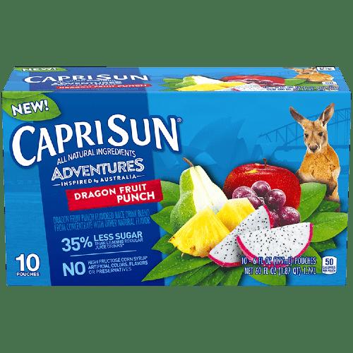 sok capri sun dragon fruit punch dragon frut 0.2 l