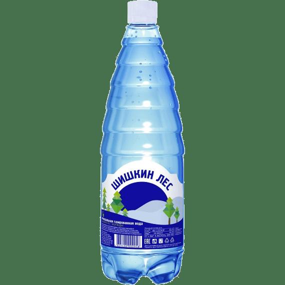 voda shishkin les negazirovannaya 1.0 l