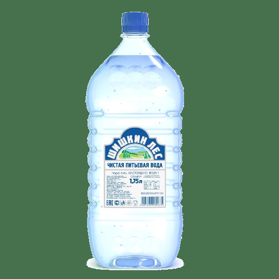 voda shishkin les negazirovannaya 1.75 l