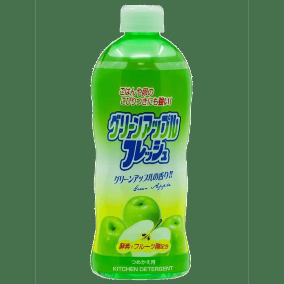 dlya mytya posudy rocket soap enjoy awas zelenoe yabloko 400ml.