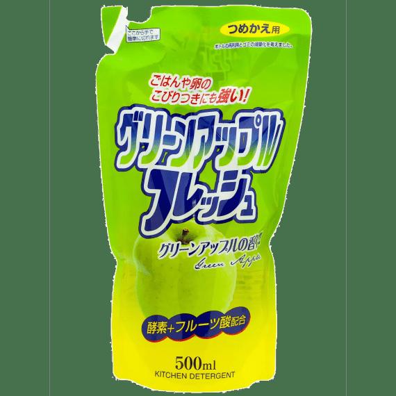 dlya mytya posudy rocket soap enjoy awas zelenoe yabloko 500 ml. kopirovat