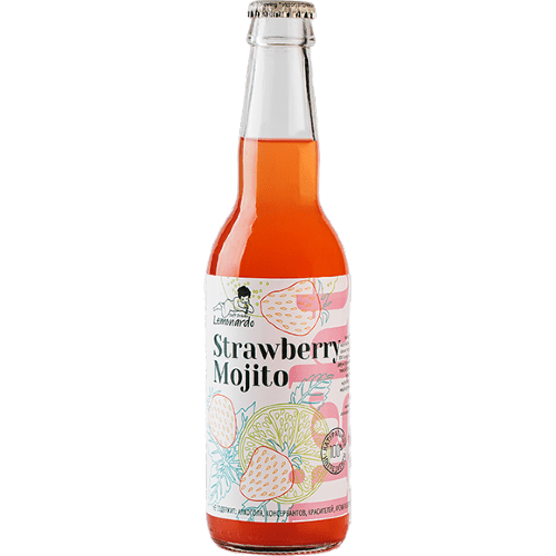 limonad lemonardo strawberry mojito light 0.33 l