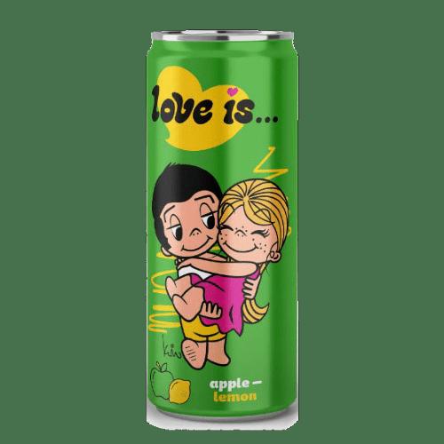 napitok love is... apple lemon 0.33 l