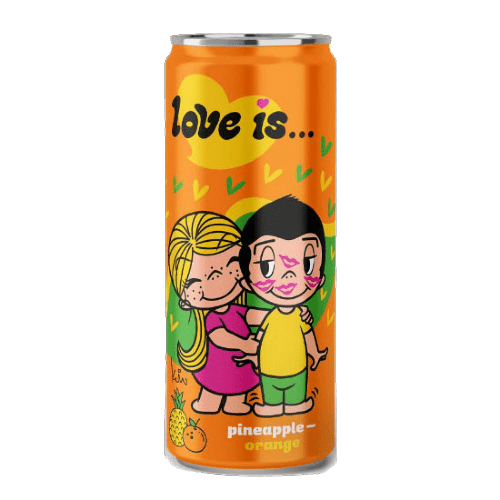 napitok love is... pineapple orange 0.33 l